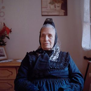 Maria Melzer, Protestant Marburger Land, 2015. From the series: The last women in their traditional peasant garbs