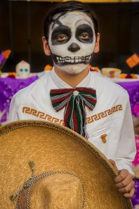 Catrine on the Day of the Dead
