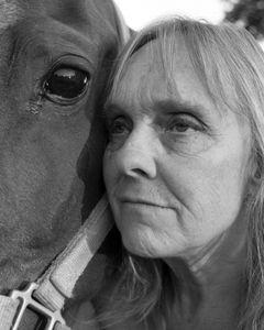Dorothy and Horse. Boise.