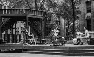 Roscoe, Malachi, Lester, Falah, Chicago 1965