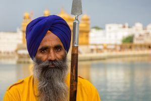 Sikh Guard at Amritsar