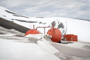 Deception base - Deception Island, Antarctica