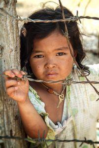 Young Girl Near Phnom Penh, Cambodia