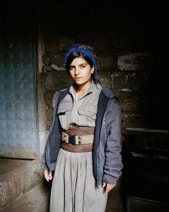 Diljin, 21 years old. Sinjar, North Iraq.