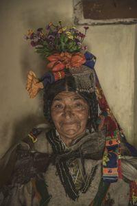 An Aryan old Lady