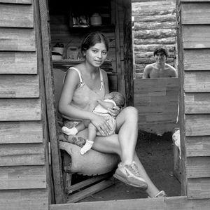 Jeune maman et son bébé (Argentine)