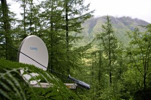 Tooway satellite system for live radio broadcasts