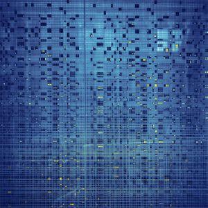 Blue Grid Detail, San Francisco