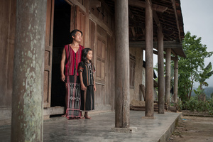 Pa Co father and daughter in Thua Thien - Hue Province