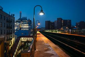 125th Street Elevated Platform