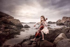 Cello by the Sea
