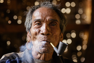 Shaman from the Chin Tribe - Myanmar
