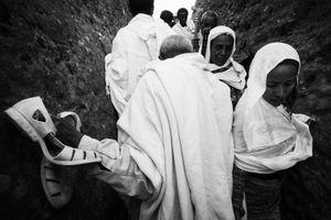 Pilgrimage at Lalibela, Two.