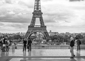 Eiffel Tower from the Palais de Chaillot