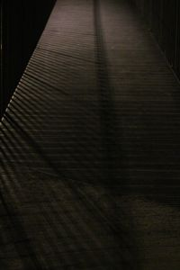 shadow on the bridge