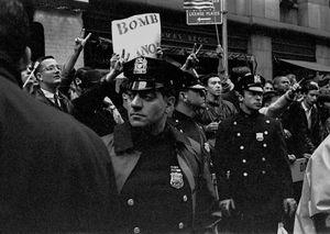 Bomb Hanoi, NYC, 1967