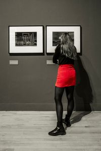 The Red Skirt