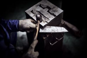 Cold forging & correcting details.