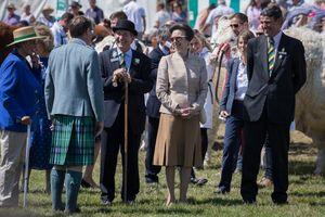 HRH The Princess Royal visits the Show