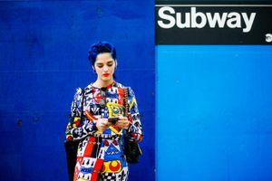 Bluetiful, New York Fashion Week.