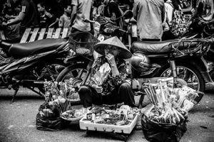 Stree sellor, Hanoi Vietnam