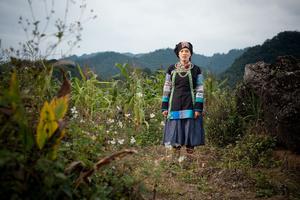 Bo Y lady in Ha Giang Province