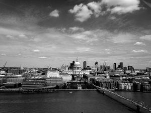 London Skyline, Seen From the Tate Modern