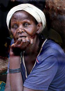 Elder Rwandan lady of Nyamirambo