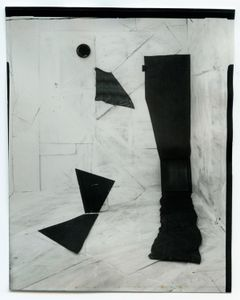 zwarte en witte nr 1/black and white no. 1, direct positief (direct positive) © Femke Dekkers