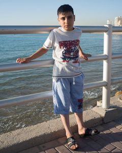 Ahmed by the sea