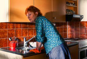Woman Washing Dishes (2013)