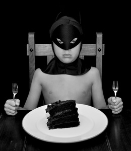 Batman vs. Cake