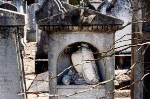 Mount Jerome Cemetery, Dublin, Ireland.