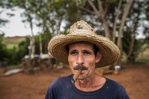 Vinales Tobacco Farmer