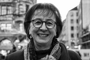 Maria in Munich in January 2020