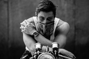 Biker© Alan Thomas Duncan Wilkie
