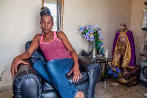 Erika at home, Cienfuegos © Mariette Allen