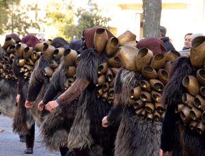 La processione dei Mamuthones