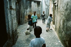 Football in Stone Town