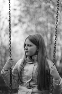 Between childhood and adolescence
