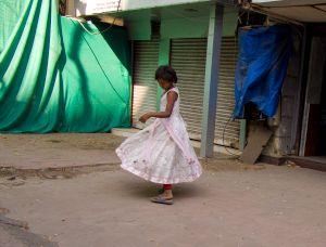 Twirling Girl, Bombay