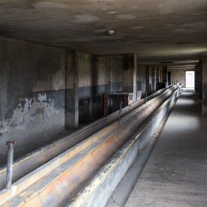 Sinks, Auschwitz-Birkenau Memorial and Museum