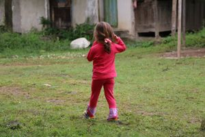 the shy girl