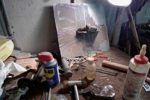 June Leaf's studio © 2008 Christopher Rauschenberg