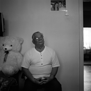 Leonid Sitnikov. He writes books about his fellow countrymen. Kargasok. Tomsk region. Russia. 2008.