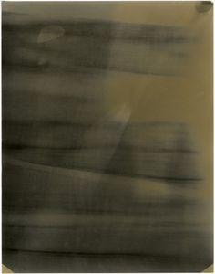 "Room Study No. 26, 2013, unique silver gelatin skiagram + chemigram, 14"" x 11"""