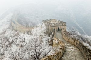 Great China Wall when you are late on your plane