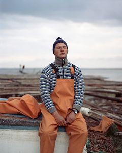 Karolis. The fisherman