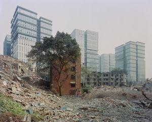 Chantier de démolition et de recyclage. District de Jiangbei, Chongqing. Chine, Décembre 2017.