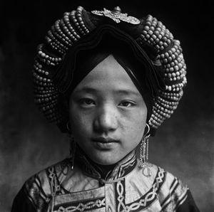 © ZHUANG Xueben (1909-1984), Tibetan Minority Girl in Jiareng Li County, Sichuan Province, 1934Courtesy of ZHUANG Wenjun